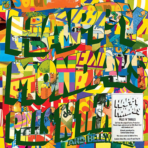 HAPPY MONDAYS LP Pills 'N' Thrills And Bellyaches (Remastered)