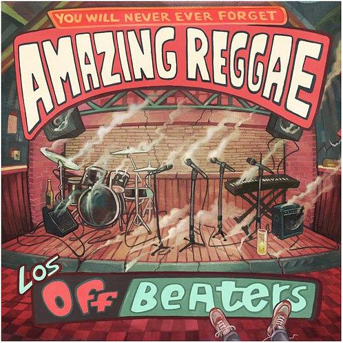 LOS OFFBEATERS LP+CD Amazing Reggae