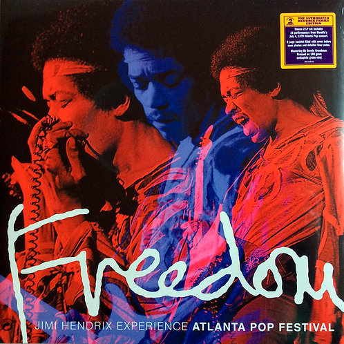 JIMI HENDRIX 2xLP Freedom: Atlanta Pop Festival