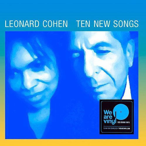LEONARD COHEN LP Ten New Songs