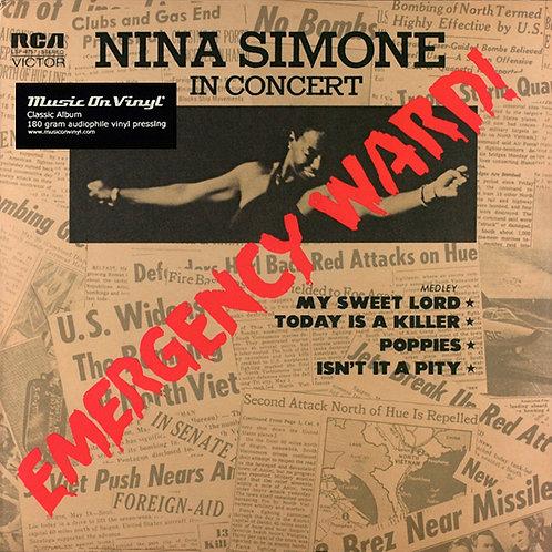 NINA SIMONE LP In Concert - Emergency Ward! (180 gram audiophile vinyl)