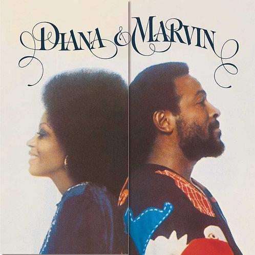 DIANA ROSS & MARVIN GAYE LP Diana & Marvin
