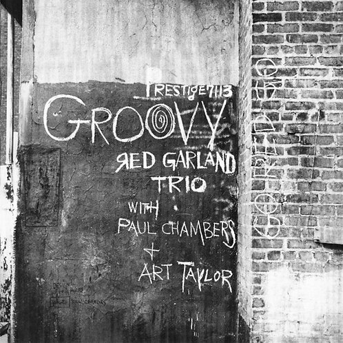 RED GARLAND TRIO CD Groovy (RVG Remasters)