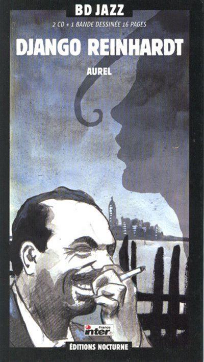 DJANGO REINHARDT 2xCD BD Jazz (Comic Book Longbox)