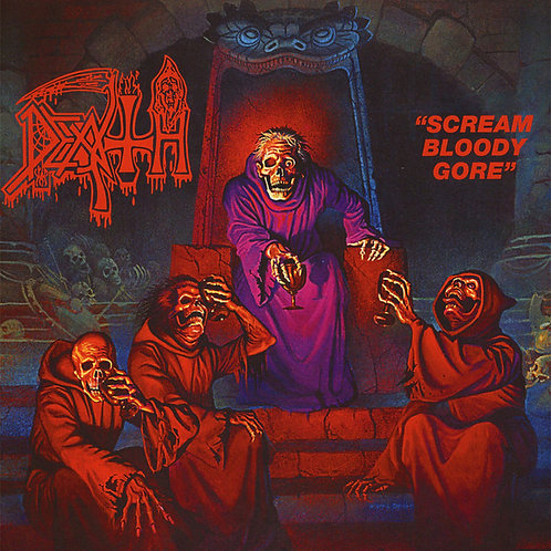 DEATH LP Scream Bloody Gore