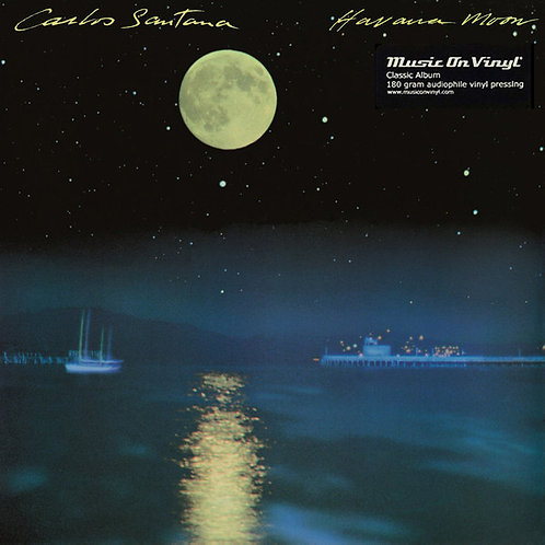 SANTANA LP Havana Moon (180 grams audiophile vinyl)