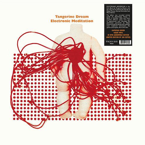TANGERINE DREAM LP Electronic Meditation