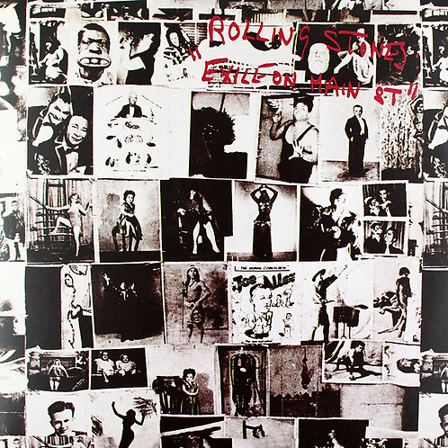 ROLLING STONES 2xLP Exile On Main Street