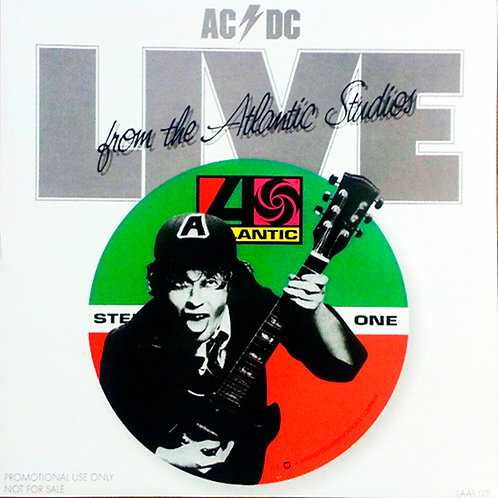 AC/DC LP Live From The Atlantic Studios