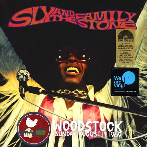 SLY AND THE FAMILY STONE 2xLP Woodstock Sunday August 17, 1969