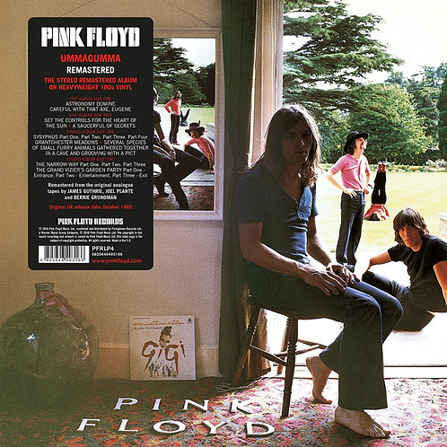 PINK FLOYD 2xLP Ummagumma (Remastered)