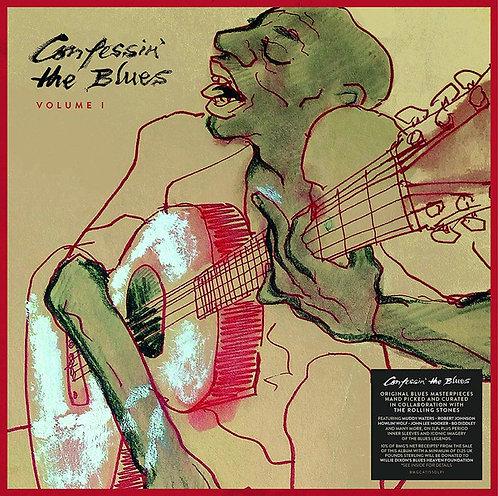 VARIOS LP Confessin' The Blues Volume 1