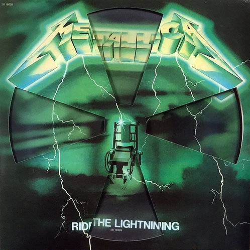 METALLICA LP Ride The Lightning (French Cover Picture Disc with Die-Cut