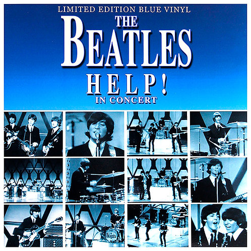 BEATLES LP Help! In Concert (Blue Coloured Vinyl)