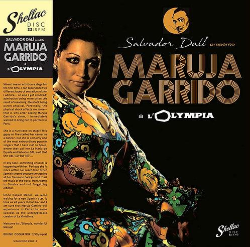 MARUJA GARRIDO LP En El Olympia de París Presentada Por Salvador Dalí