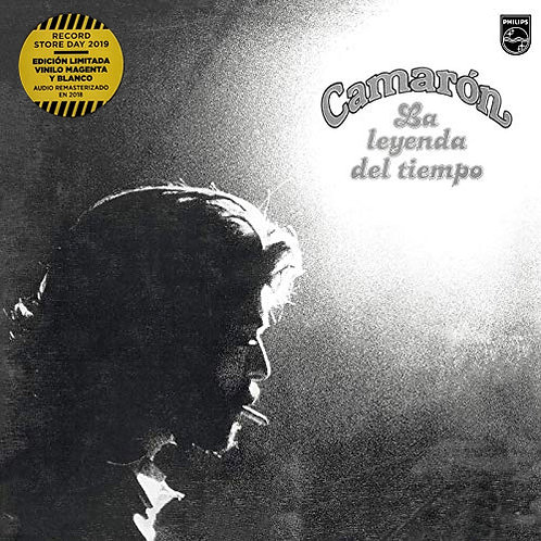CAMARON LP La Leyenda Del Tiempo 40º Aniversario (Magenta White Coloured Vinyl)