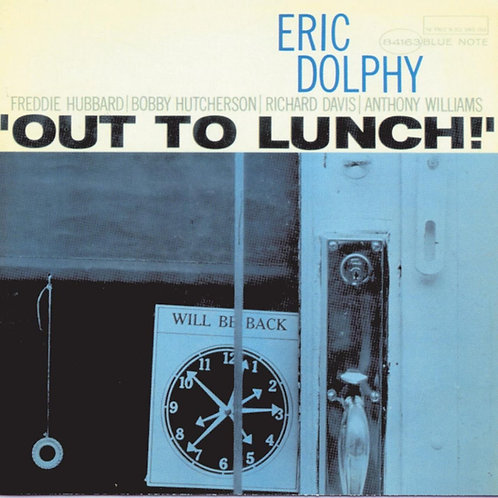 ERIC DOLPHY CD Out To Lunch! (RVG Remasters)