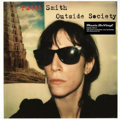 PATTI SMITH 2xLP Outside Society (180 gram audiophile vinyl)