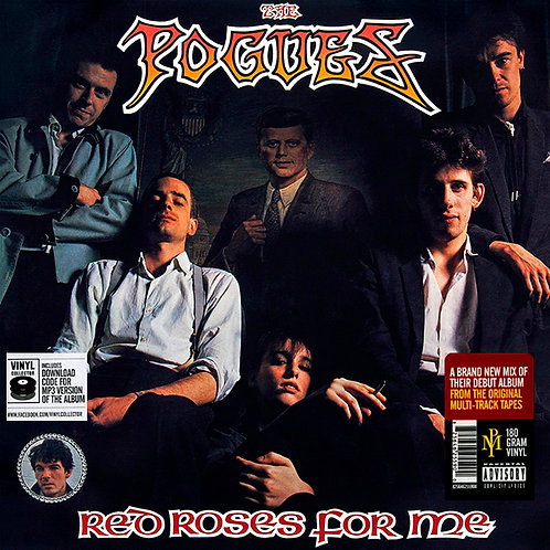 THE POGUES LP Red Roses For Me (Brand New Mix)