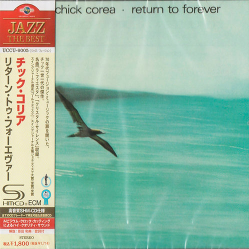 CHICK COREA CD Return To Forever (SHM-CD Japan)