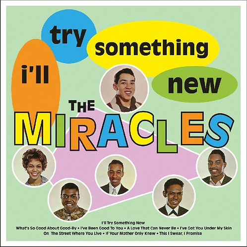 THE MIRACLES LP  I'll Try Something New