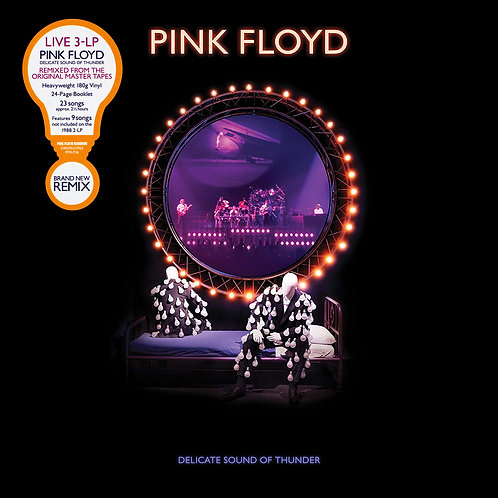 PINK FLOYD 3xLP Delicate Sound Of Thunder (Remixed from original master tapes)