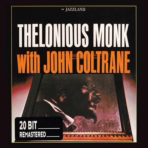 THELONIOUS MONK CD Thelonious Monk With John Coltrane