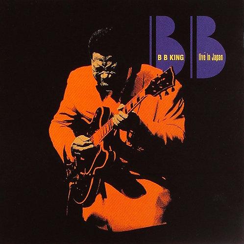 B.B. KING CD Live In Japan