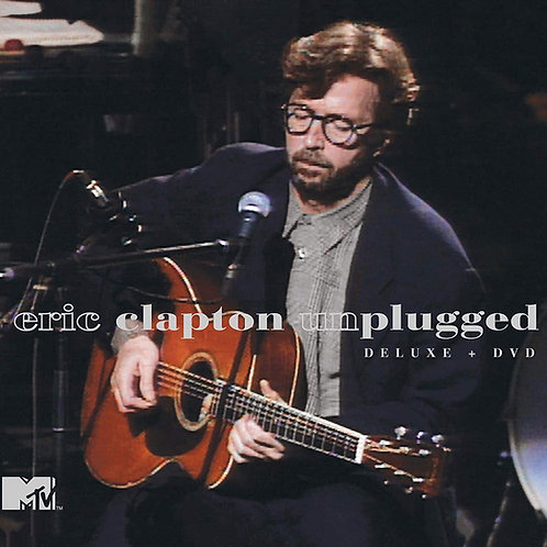 ERIC CLAPTON LP Unplugged