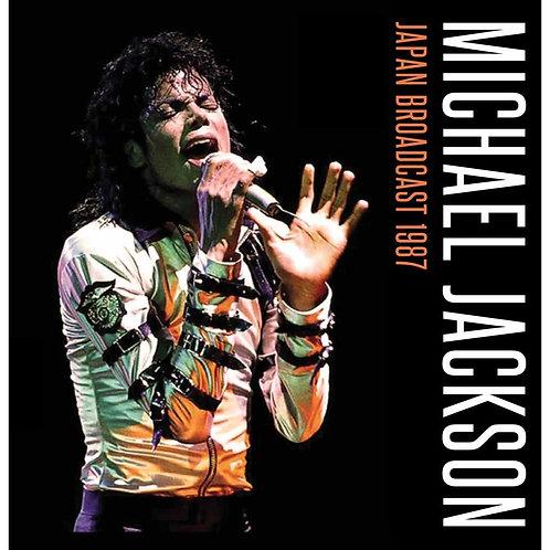 MICHAEL JACKSON 2xLP Japan Broadcast 1987