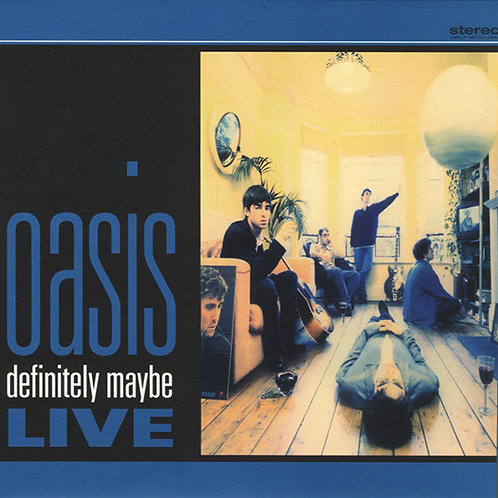 OASIS LP Definitely Maybe Live