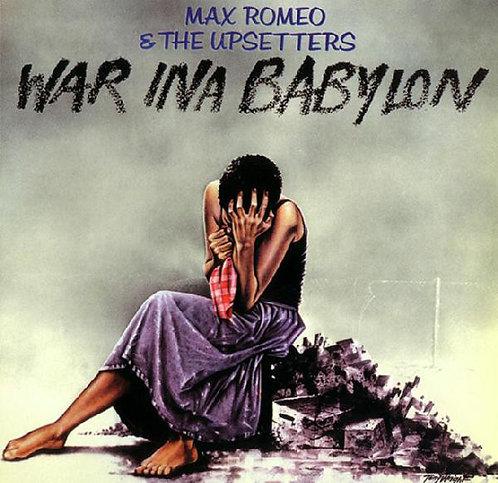 MAX ROMEO & THE UPSETTERS CD War Ina Babylon