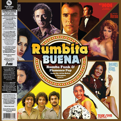 VARIOS LP Rumbita Buena: Rumba Funk & Flamenco Pop From The 1970s Belter & Disco