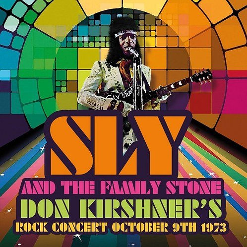 SLY AND THE FAMILY STONE LP Don Kirshner's Rock Concert October 9th 1973