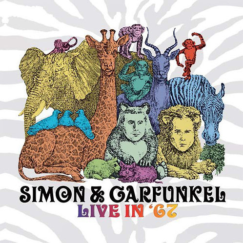 SIMON AND GARFUNKEL LP Live In '67