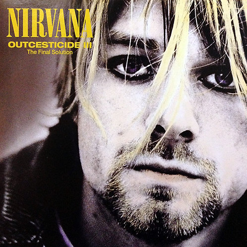NIRVANA LP Outcesticide III - The Final Solution (Clear Coloured Vinyl)