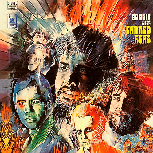 CANNED HEAT CD Boogie With Canned Heat + Bonus Tracks (Remastered)