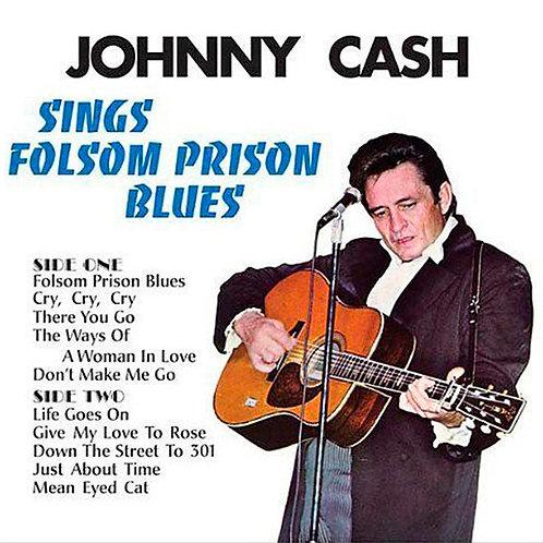JOHNNY CASH LP Sings Folsom Prison Blues