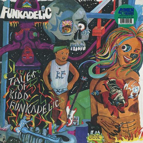 FUNKADELIC LP Tales Of Kidd Funkadelic (Blue & Green Coloured Vinyl)