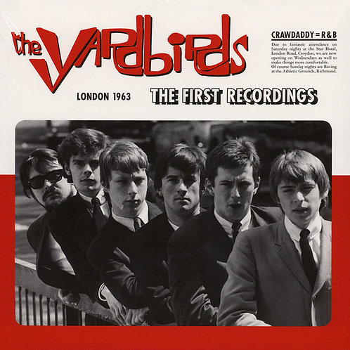 YARDBIRDS LP London 1963 - The First Recordings!