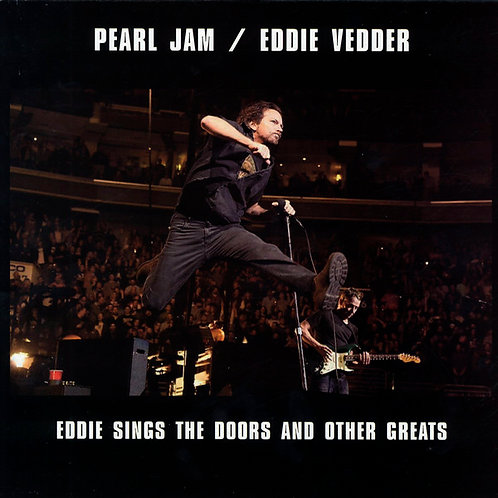 PEARL JAM LP Eddie Sings The Doors And Other Greats (Blue Coloured Vinyl)