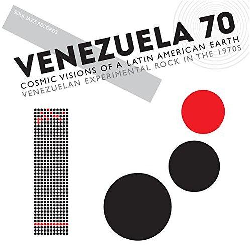 VARIOS 2xLP Venezuela 70 Cosmic Visions Of A Latin American Earth