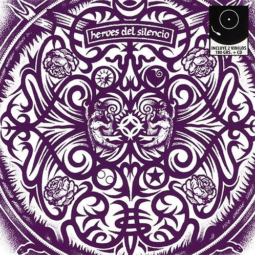 HEROES DEL SILENCIO 2xLP+CD Senda 91 (RSD 2016)