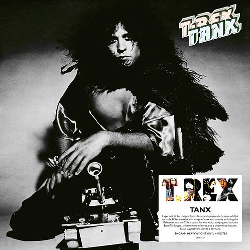 T. REX LP Tanx (180-gram Heavyweight Vinyl)