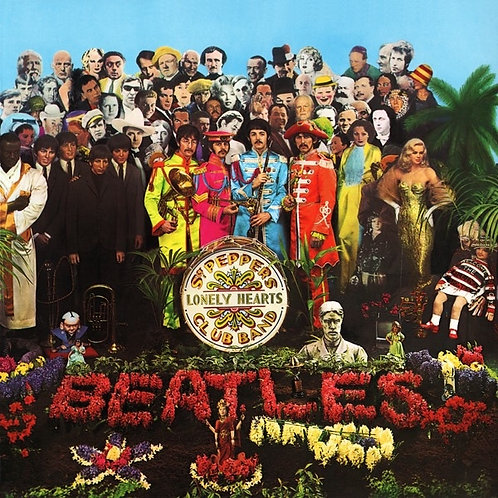 BEATLES LP Sgt. Pepper's Lonely Hearts Club Band (Gatefold UK)