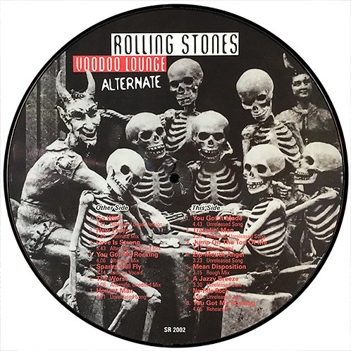 ROLLING STONES LP The Alternate Voodoo Lounge (Picture Disc)