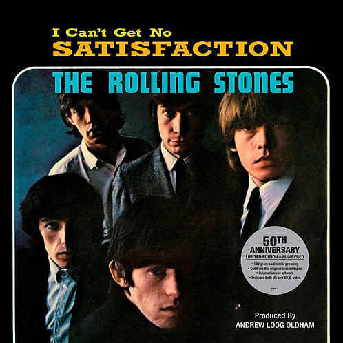 ROLLING STONES Maxi-LP Satisfaction (50th Anniversary)