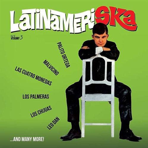 VARIOS LP Latinameriska Volume 3