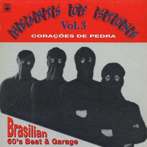 VARIOS LP Hearts Of Stone Vol. 3 Brasilian 60's Beat & Garage