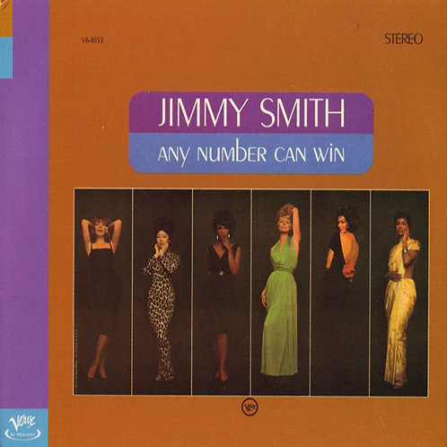 JIMMY SMITH CD Any Number Can Win